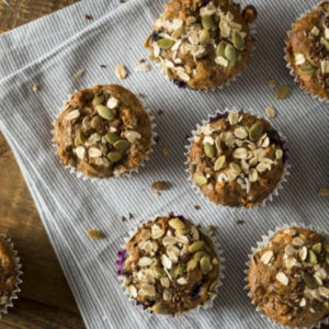 Muffins on the go recipe by Caroline Fibaek