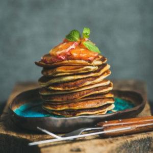 Banana Pancakes from The Hormone Diet by Caroline Fibaek