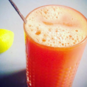 Grapefruit juice with vanilla recipe by Caroline Fibaek